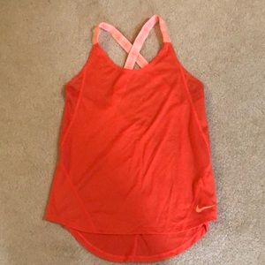 NEW Nike athletic running tank top yoga shirt S